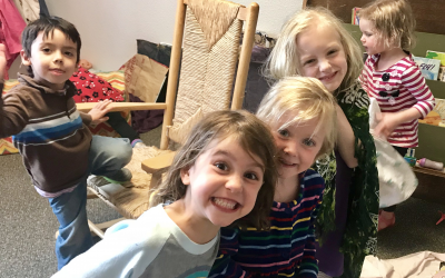 """Playing """"House"""" in the Preschool"""
