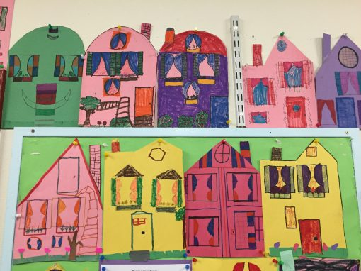 Bixby Math's DIY Townhouses